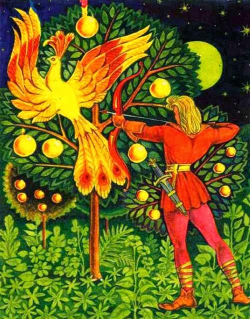 создателей картинки сказка золотое яблоко представлены все