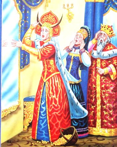 Рисунок - Наказанная царевна — русская народная сказка