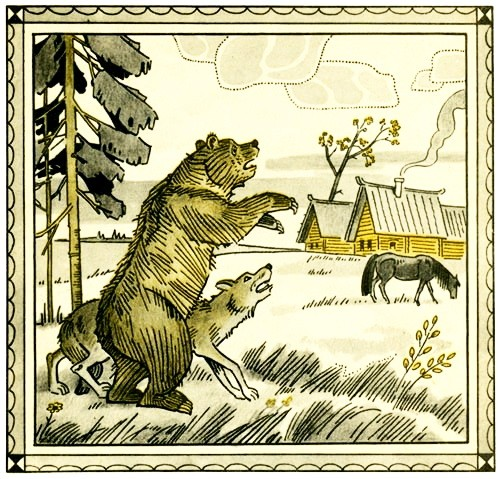 Рисунок - Охотник до сказок — русская народная сказка