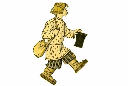 Рисунок - Шиш-сказочник: Сказки о Шише — русская народная сказка